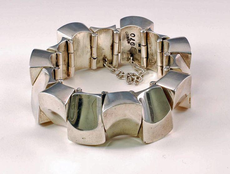 Bracelet   Antonio Pineda. Sterling silver. Vintage, Mexcio.
