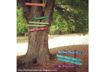 7 Habits tree on school's property