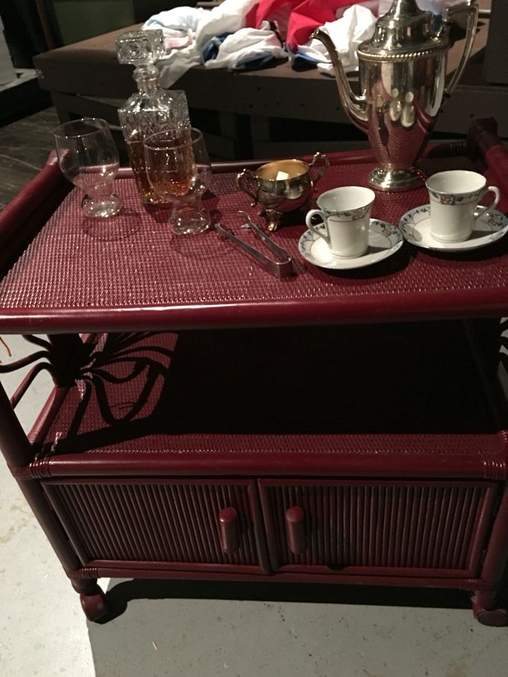 South Pacific Furniture. Tea Cart For South Pacific Furniture