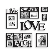 Live, laugh, love wall frame art would be nice for the 2nd