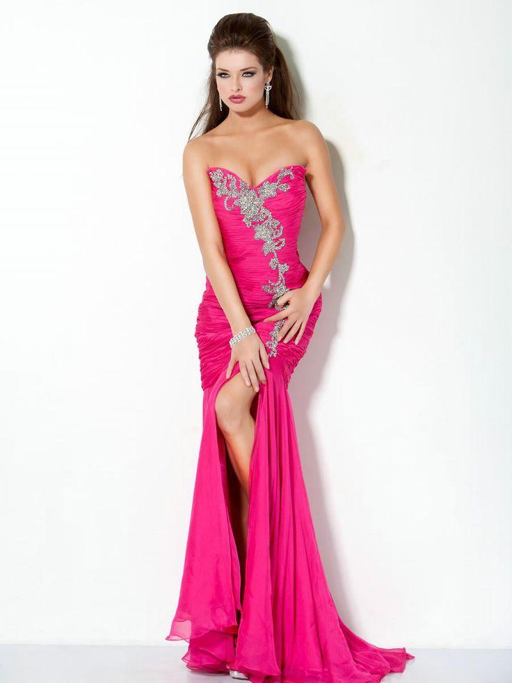 919 best Evening Dresses images on Pinterest   Formal evening ...