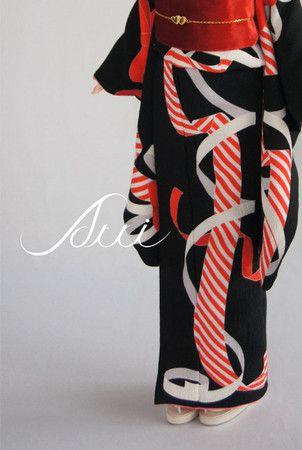 居内商店 : リボン着物 (ribbon kimono)