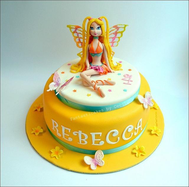 Stella Winx Cake