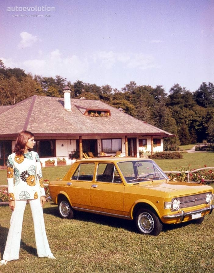 We seemed to own a Fiat 128 for a very long time –in exactly the same colour as in the picture. My father used to drive the 1,400 km from Mannheim to Sala Consilina with barely a break, subsisting on cigarettes and black coffee. We kids simply curled up in the back – my sister on the rear bench and I in the footwell.
