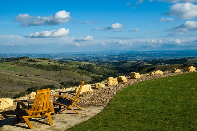 Daou Winery view Paso Robles