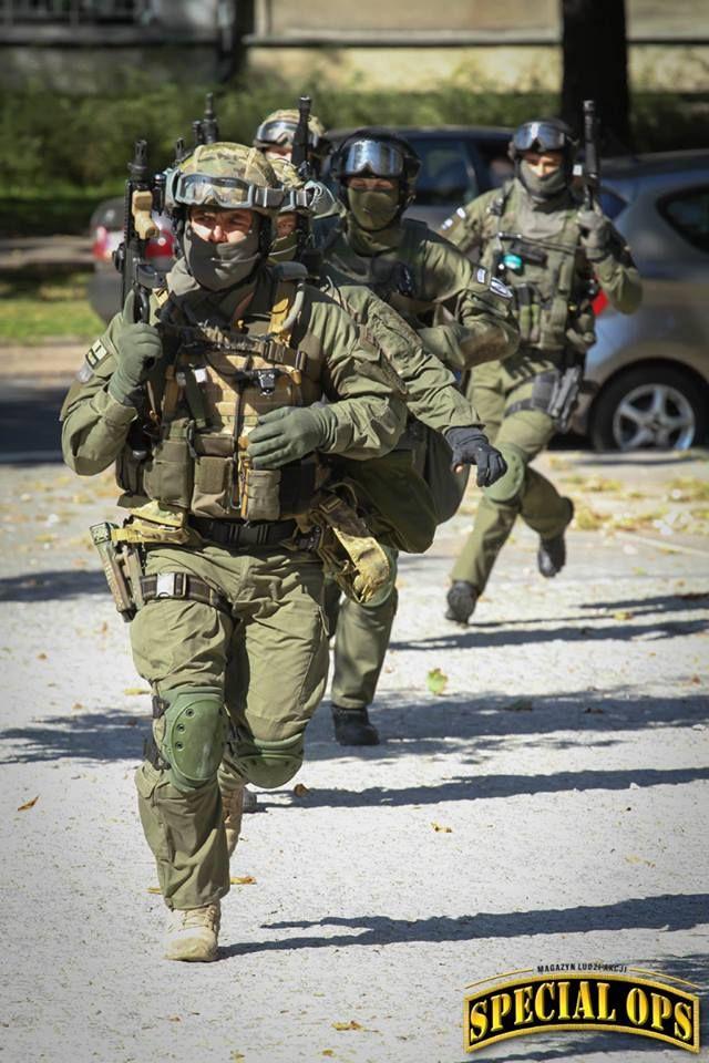 Polish Policja Counter-terrorism Squad