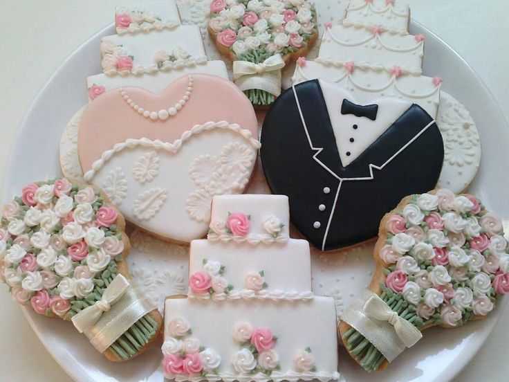 Cookies For Wedding Favors