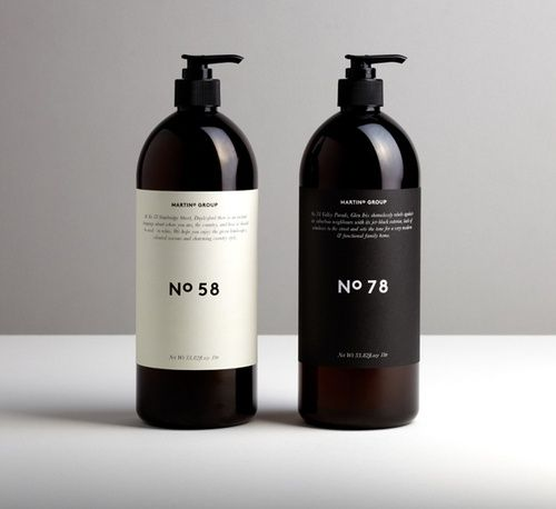 Packaging. Label layout.