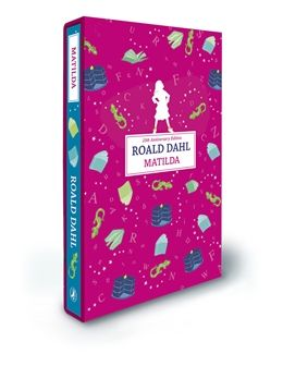 Matilda by Roald Dahl, new deluxe Puffin edition
