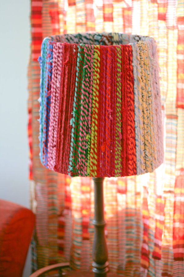 Best DIY Lampshade Tutorials Images On Pinterest Lampshade - Diy cloud like yarn lampshade