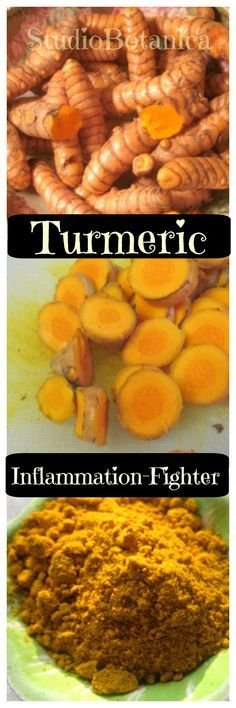 Tasty ideas to use this fabulous herb daily. Decrease inflammation with Turmeric! It's a great herb to know. LONG list of attributes.
