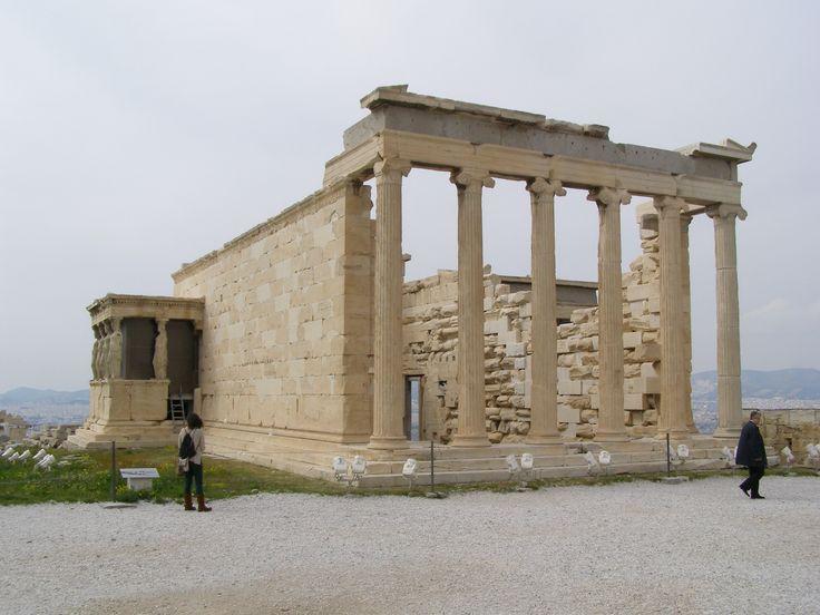 Erechtejon, Ateny, starożytna Grecja