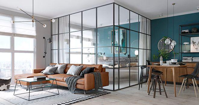 Un elegante apartamento bien aprovechado decoraci n for Soluciones apartamentos pequenos
