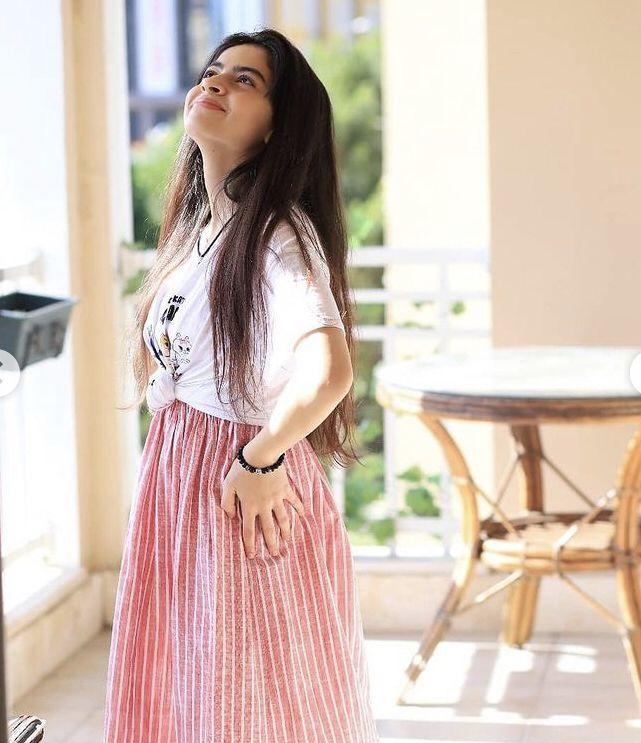 ملاك تيوب Midi Skirt Fashion Floral Skirt
