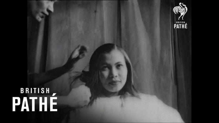 Life Before GHD Hair Straighteners | (1948 Straightening Tutorial for Black Women's Hair)