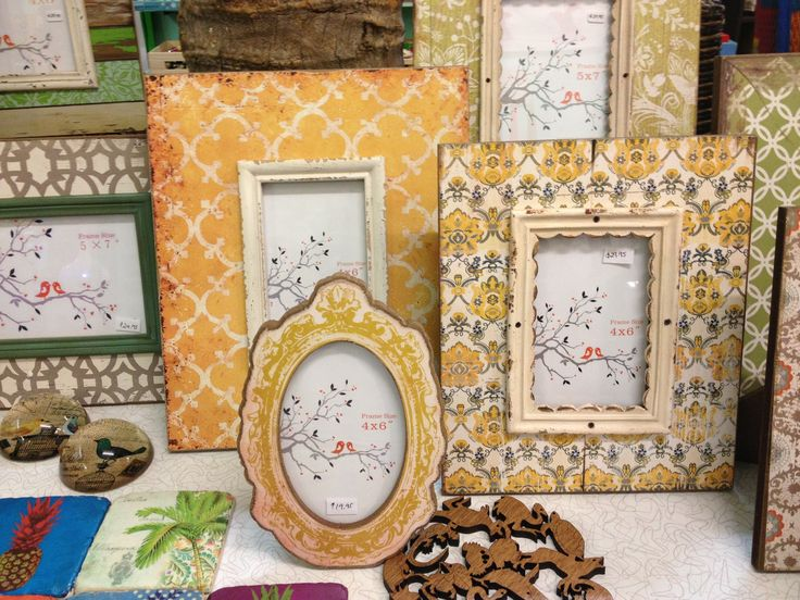 Some more lovely photo frames - make your photos stand out!