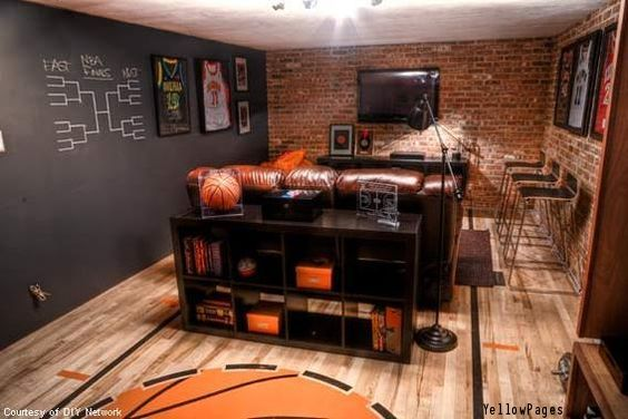 Man Cave Accent Wall : Images about man caves on pinterest pool