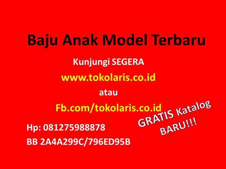 0812 7598 8878 | Baju Anak Model Terbaru Tanah Abang