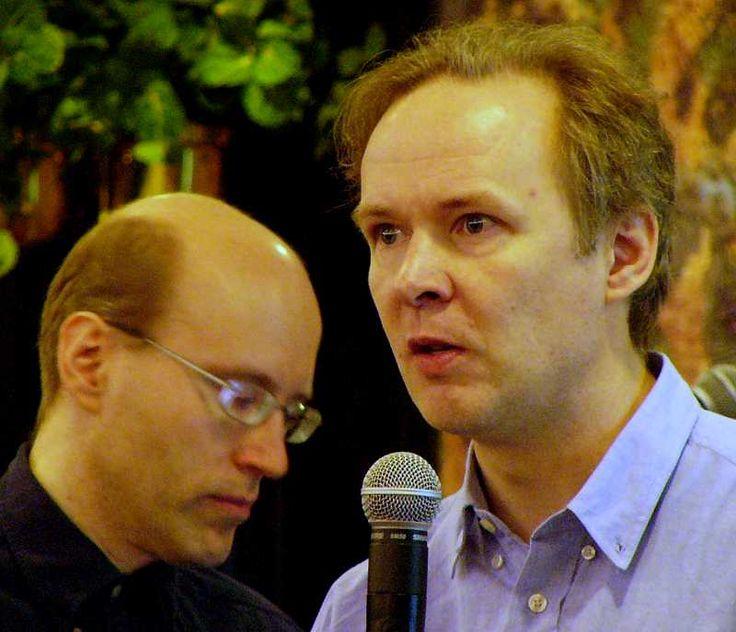 """David Axmark (left) and Michael """"Monty"""" Widenius, authors of MySQL"""