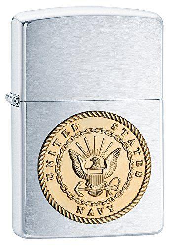 Zippo US Navy Emblem Brushed Chrome Pocket Lighter Zippo https://www.amazon.com/dp/B01HGY7IZC/ref=cm_sw_r_pi_dp_x_1aDSybP4MKANN