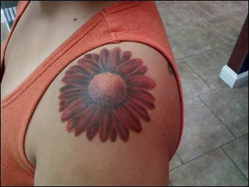 Cross With Daisy Tattoo: 17 Best Images About Tattoos I Want On Pinterest