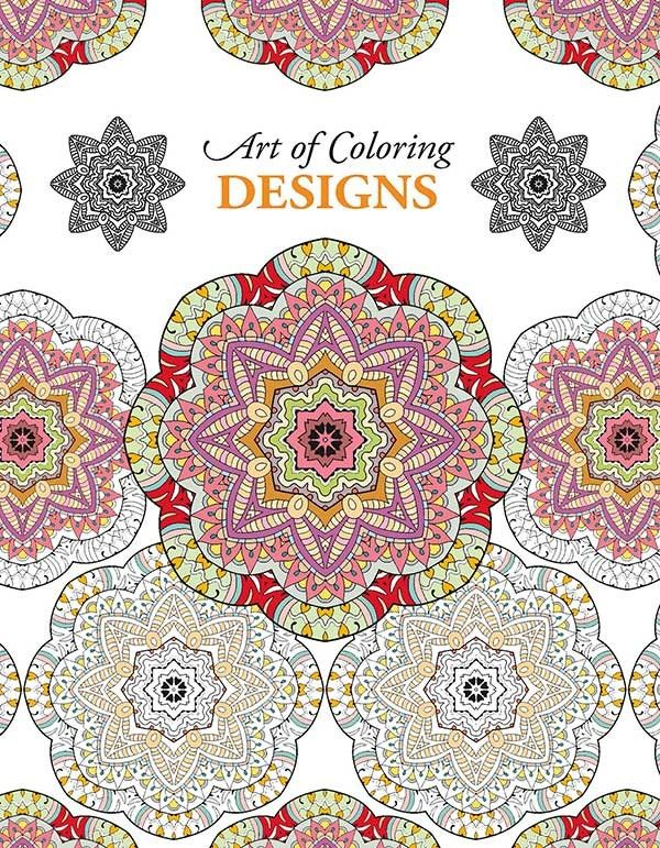 Art Of Coloring Designs Adult ColoringColoring BooksColouringPaper