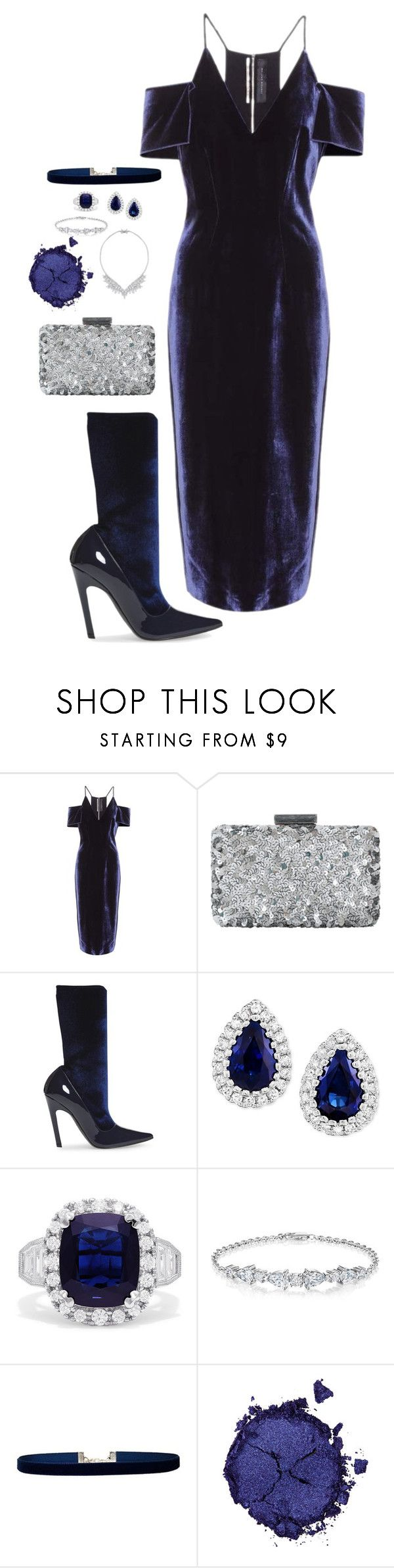 """""""Chic"""" by modei ❤ liked on Polyvore featuring Roland Mouret, Oscar de la Renta, Balenciaga, Effy Jewelry, Lulu in the Sky and Pat McGrath"""