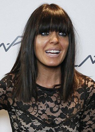 Picture perfect: Oona Chaplin and Claudia Winkleman looked picture perfect after their MAC makeovers