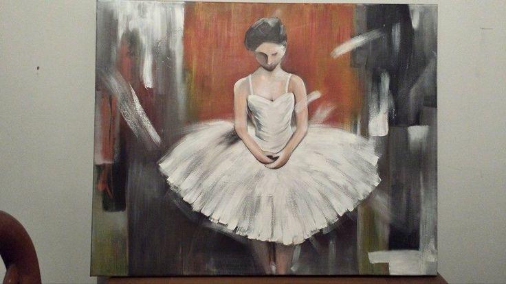 Bailarina en acrílico