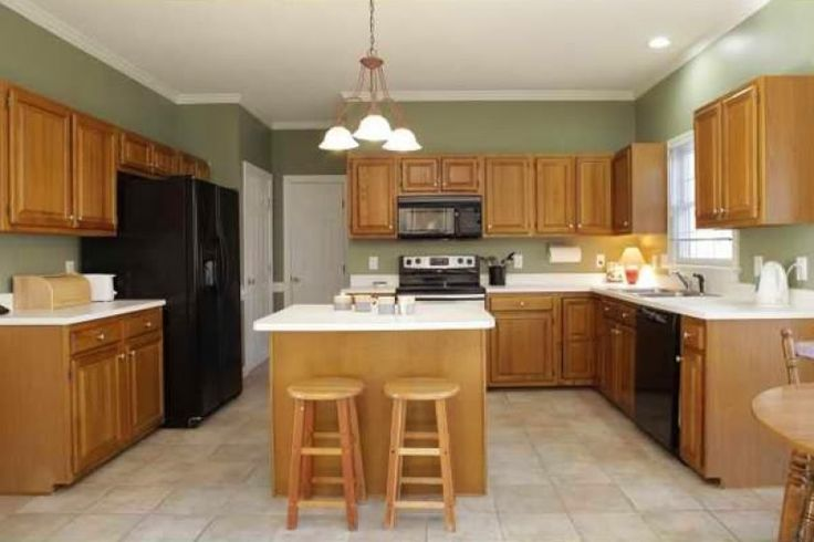 kitchen paint colors with light oak cabinets popular on wall colors for 2021 id=50129