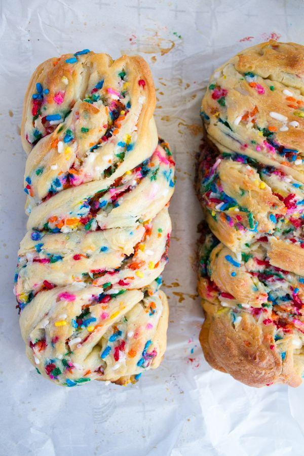 Birthday Cake Babka