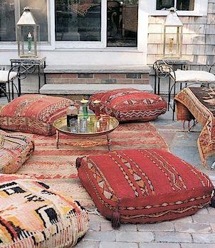 Make it a Bedouin Middle Eastern feast!