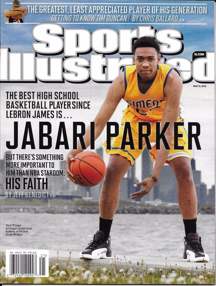 Sports Illustrated magazine Jabari Parker Tim Duncan Sebastian Coe Eric Hosmer