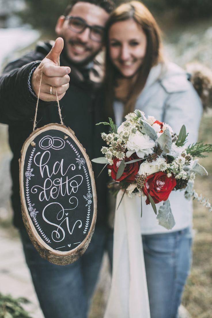 La più romantica proposta di matrimonio in montagna