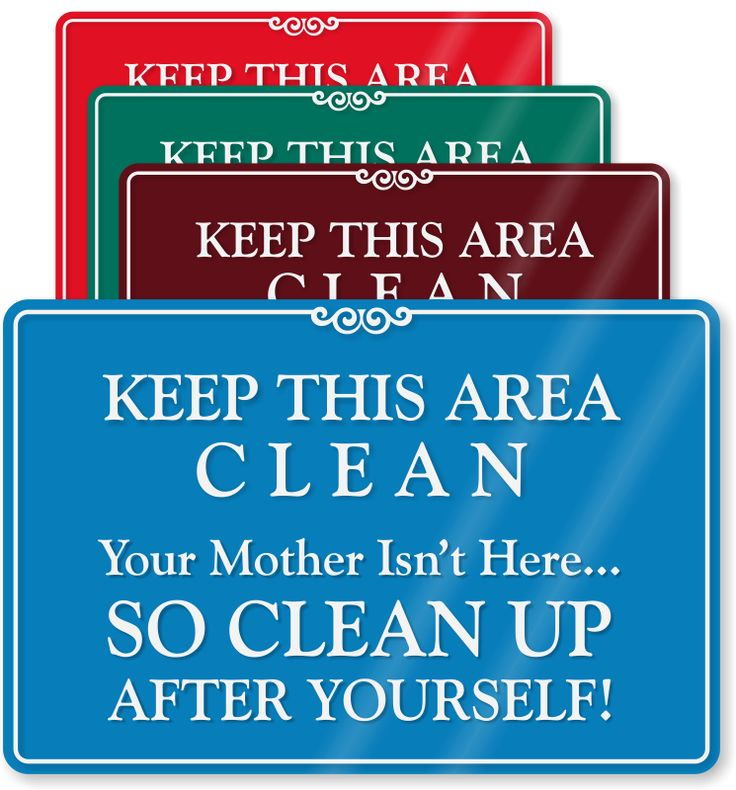 Keep-this-area-clean-sign-se-5964.png (745×800)
