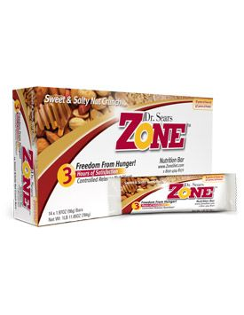 Dr. Sears' Zone™ Bars - Sweet & Salty Nut Crunch - Zone Diet | Weight Loss & Diet Foods
