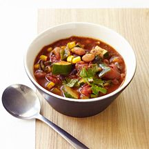 Spicy Slow Cooker Vegetarian Chili...6 WW Points Plus for 1.5 Cup Serving