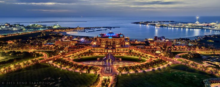 Emirates Palace Hotel, the crown jewel of Abu Dhabi