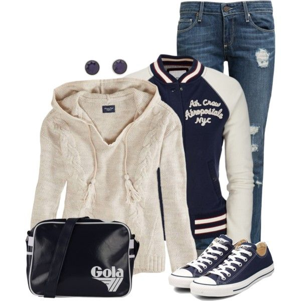 American Eagle Hoodies, created by angela-windsor on Polyvore
