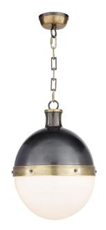 "large hicks pendant item # TOB5063  Designer Thomas O'Brien  Height: 17 1/2"" * Width: 12 1/2"""