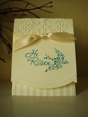 "penguinstamper: Notably Ornate Card Sample **** SU ""Easter Dove""; ""Clearly for You""; ""Notably Ornate"", all retired."