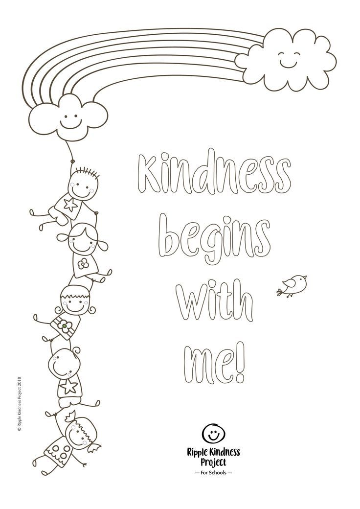 Free Printables Teaching Kindness, Kindness Projects, Empathy Activities