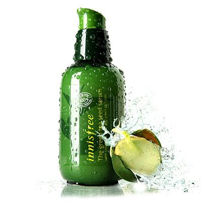 innisfree green tea serum, this stuff is the greatest moisturizer I've ever used! Love all innisfree products!
