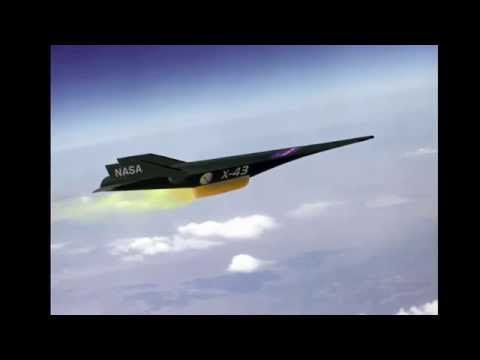 Najszybszy samolot na świecie! - X-43 - YouTube