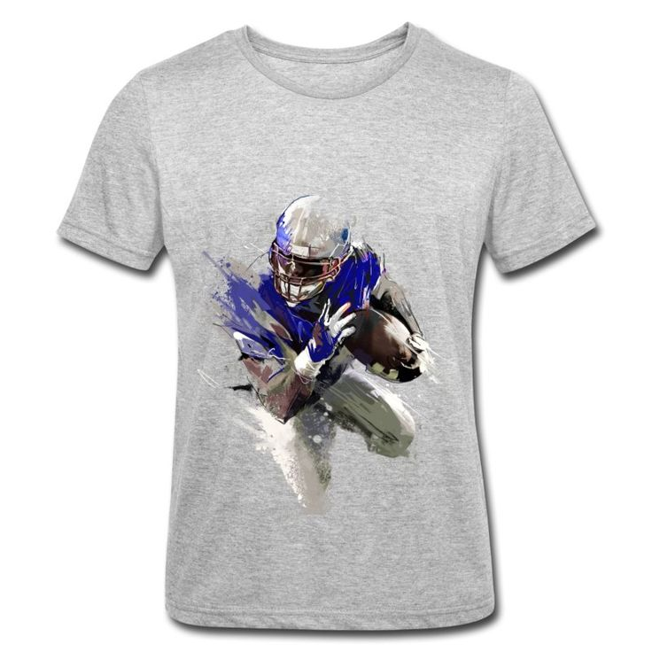 40B Streetart Runningback Roundneck T-Shirt by 40 Burger // Finest Football & Fashion. #americanfootball #football #40b #nfl #rannfl #t-shirt #tshirt #runningback #roundneck #streetwear