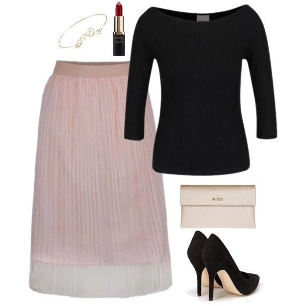 Ružová plisovaná tylová midi sukňa – MODNYSVET