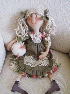 Жили - были куклы веселушки : Натворила...