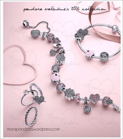 pandora valentines day 2016 collection preview - Pandora Valentines Bracelet