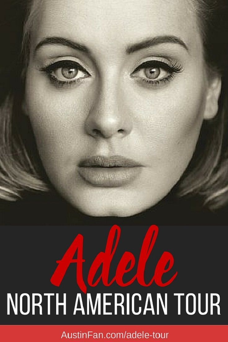 Adele TOUR DATES include Austin TX! Actually for Adele's 2016 Concert Tour she'll be in several Texas cities. Dallas, Austin and Houston at AustinFan.com/adele-tour