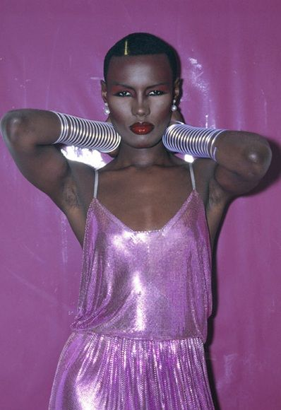 Grace Jones in 1978 One of the originators of fierce